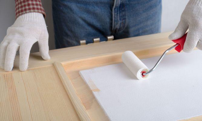 Aplicar una imprimación en madera - Bricomanía