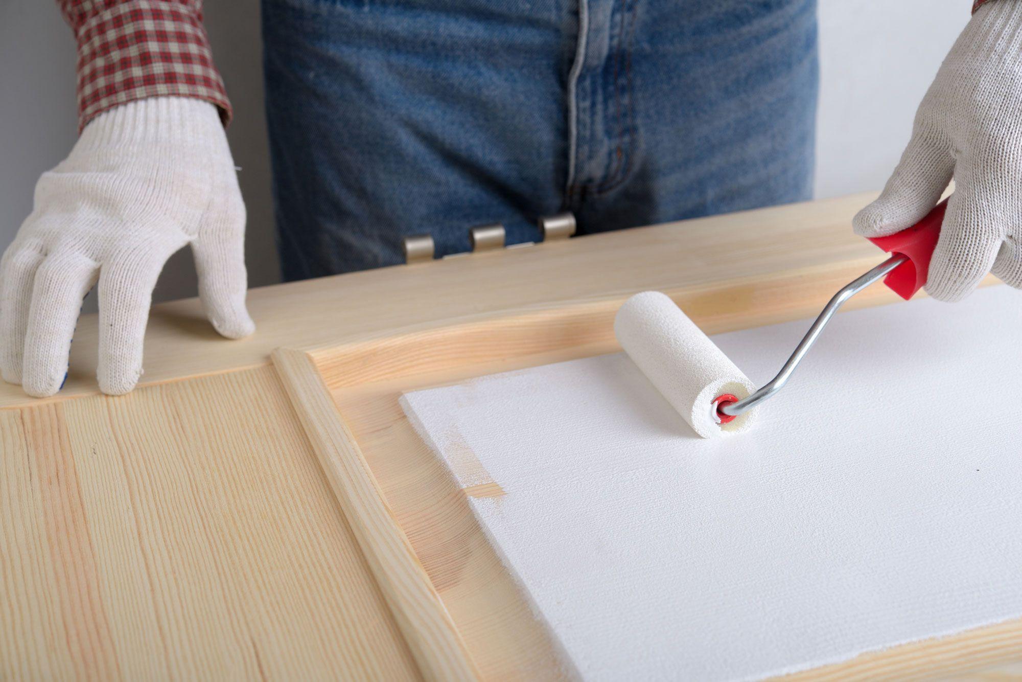 C mo pintar un mueble de melamina hogarmania - Pintura para muebles ...