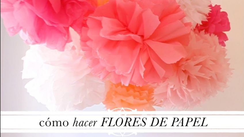 Como Hacer Flores Gigantes De Papel Hogarmania - Hacer-flores-con-papel