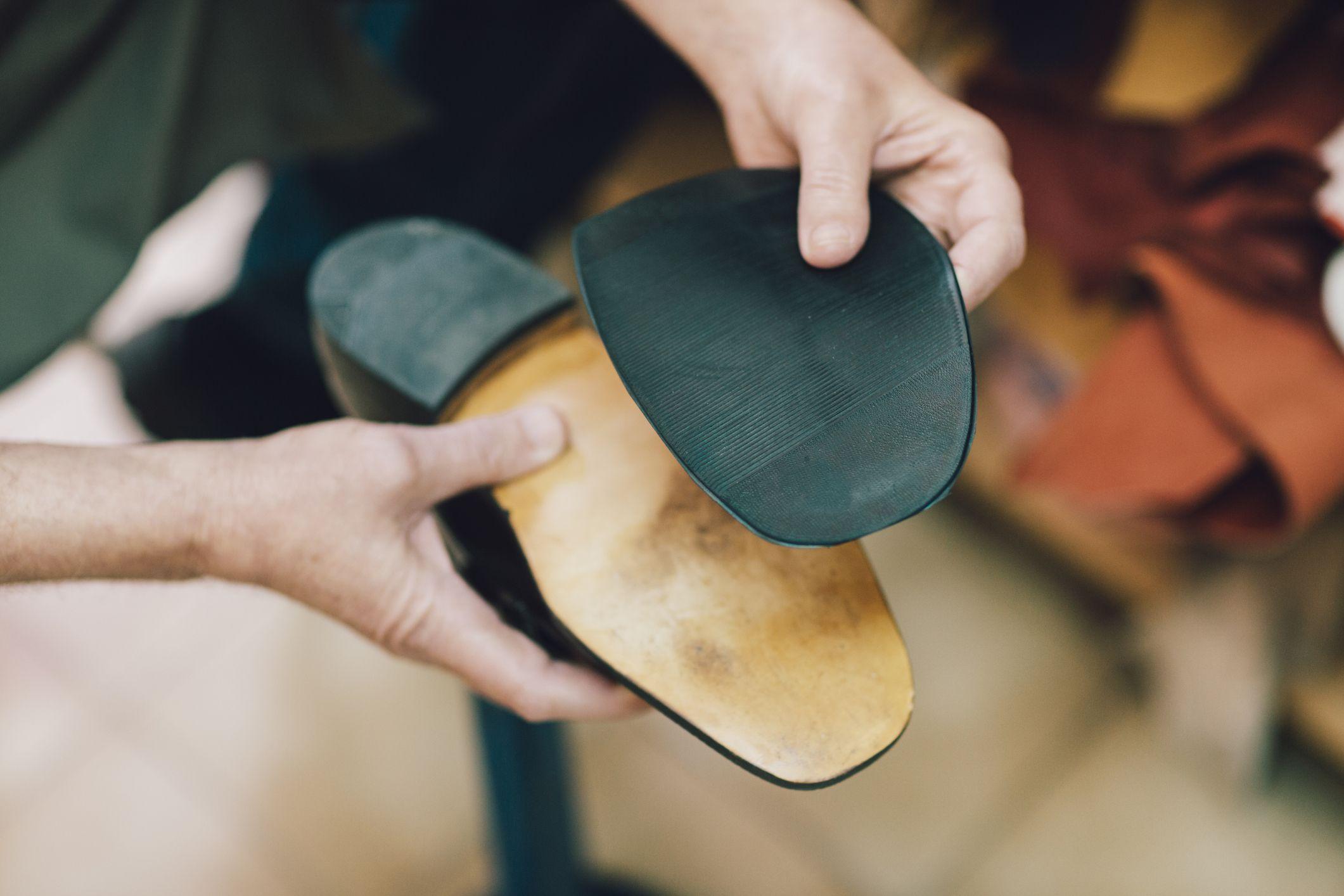 Zapatos cosidos a mano