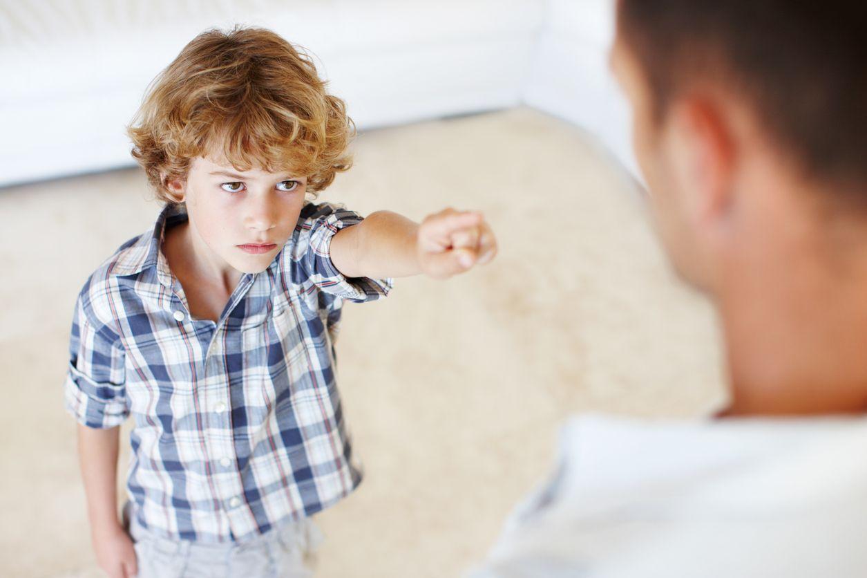 Saber decir NO a nuestros hijos