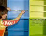 Hacer una estantería juvenil con cajones de madera
