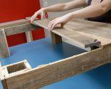 Cómo hacer una mesa de centro con un palet