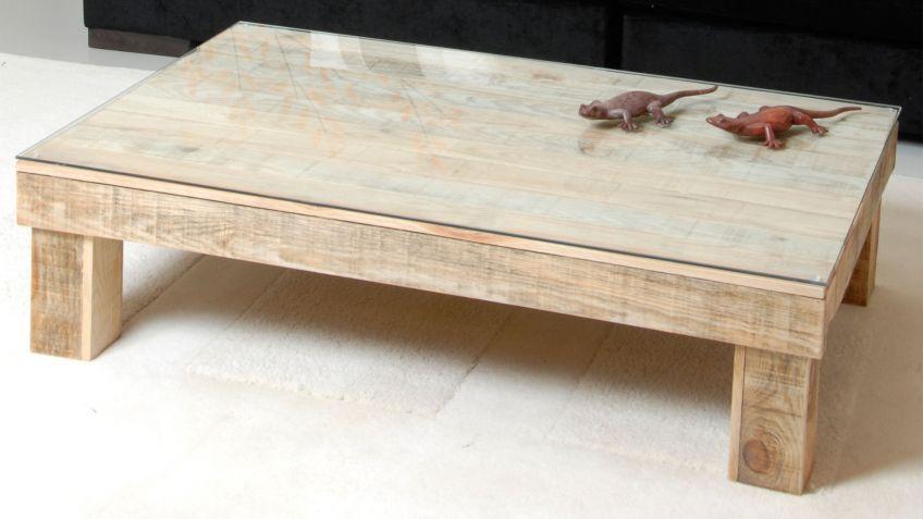 Cmo hacer una mesa de centro con un palet Decogarden
