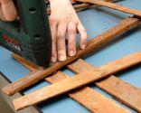 Cómo hacer un cuadro con cortezas y chapas de madera