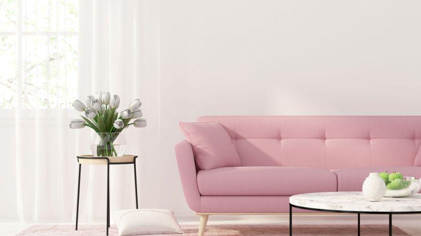 Decoración en color rosa - Hogarmania
