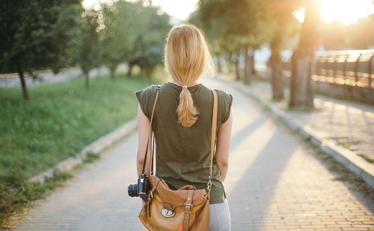 estrés vacaciones - paseos