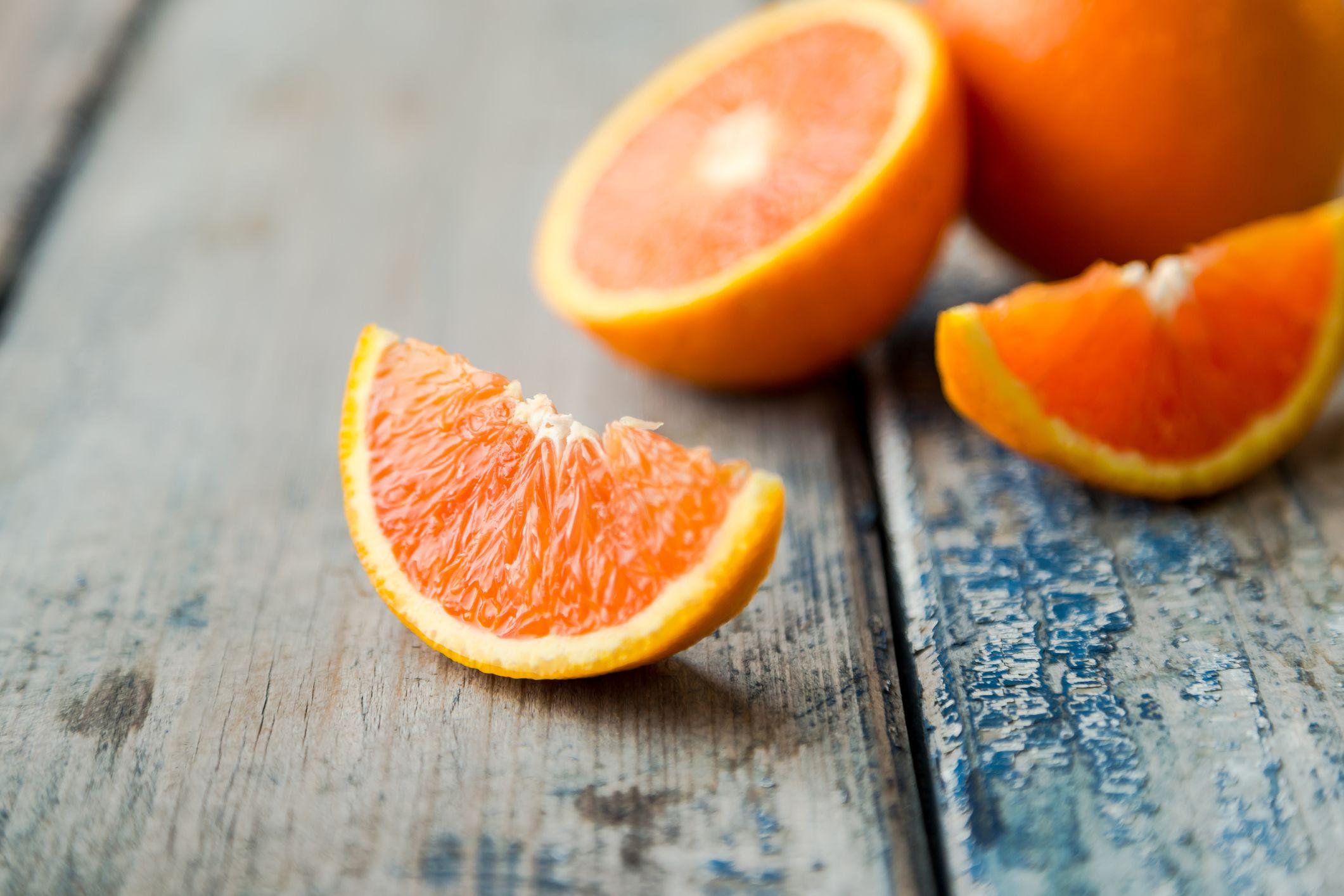 naranja piel