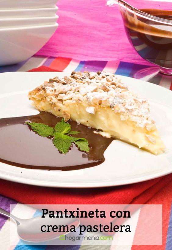 Receta de Pantxineta con crema pastelera