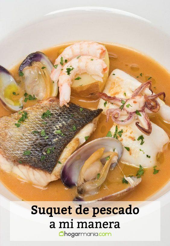 Receta de suquet de pescado a mi manera