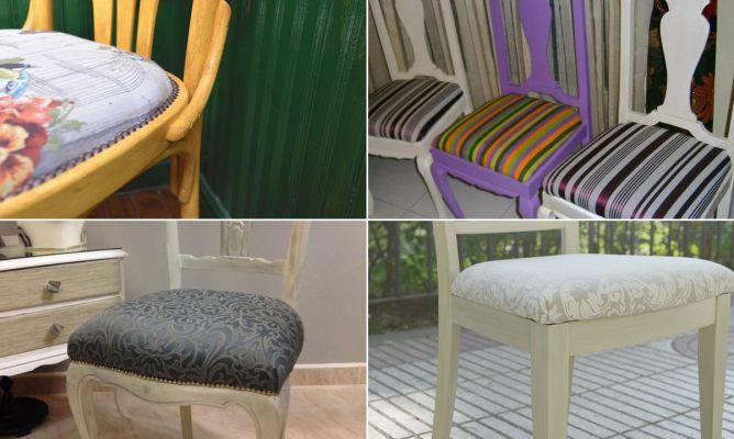 Trabajos de la Comunidad de decoración sobre cómo restaurar sillas - Hogarmania
