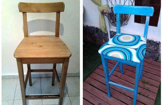 Trabajos de la Comunidad de decoración sobre cómo restaurar sillas