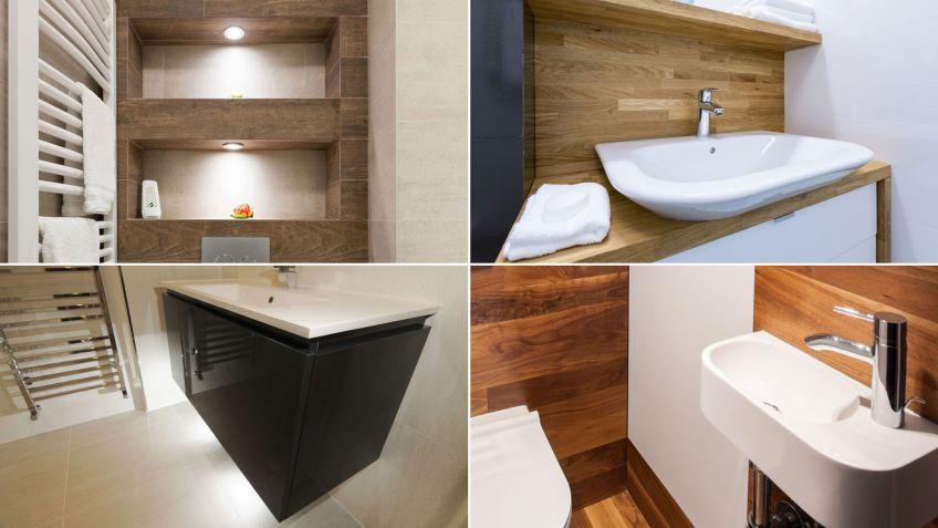 5 trucos para aprovechar el espacio en el baño - Decoración