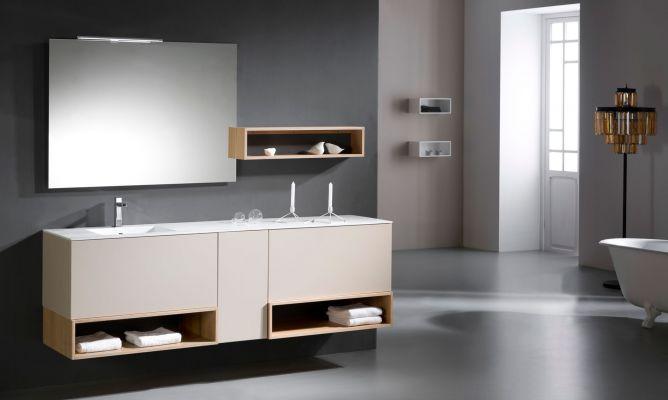 8691138642a2 Ventajas de los muebles de baño suspendidos - Hogarmania