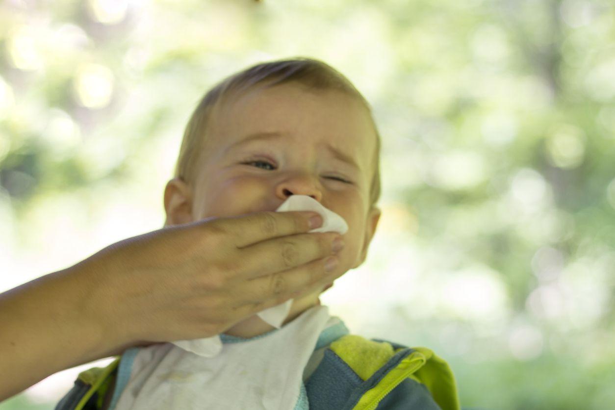 Vómitos en niños y bebés