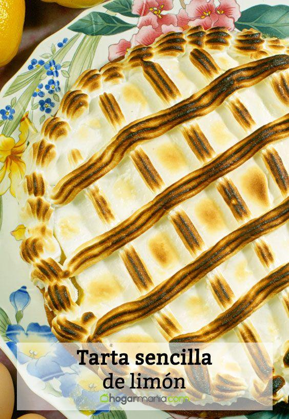 Receta de Tarta sencilla de limón