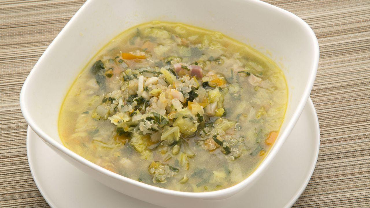 Receta de Sopa de quinoa - Karlos Arguiñano