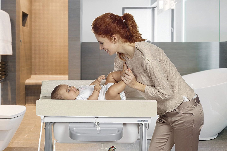 Bañera-cambiador de bebé
