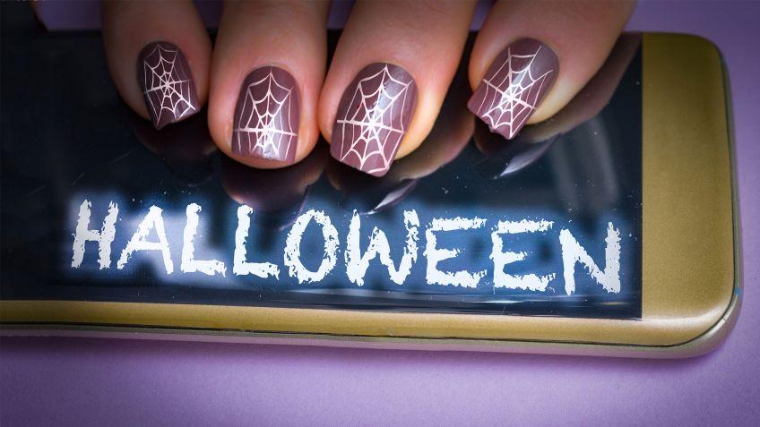 Diseños de uñas para manicuras de Halloween - Hogarmania