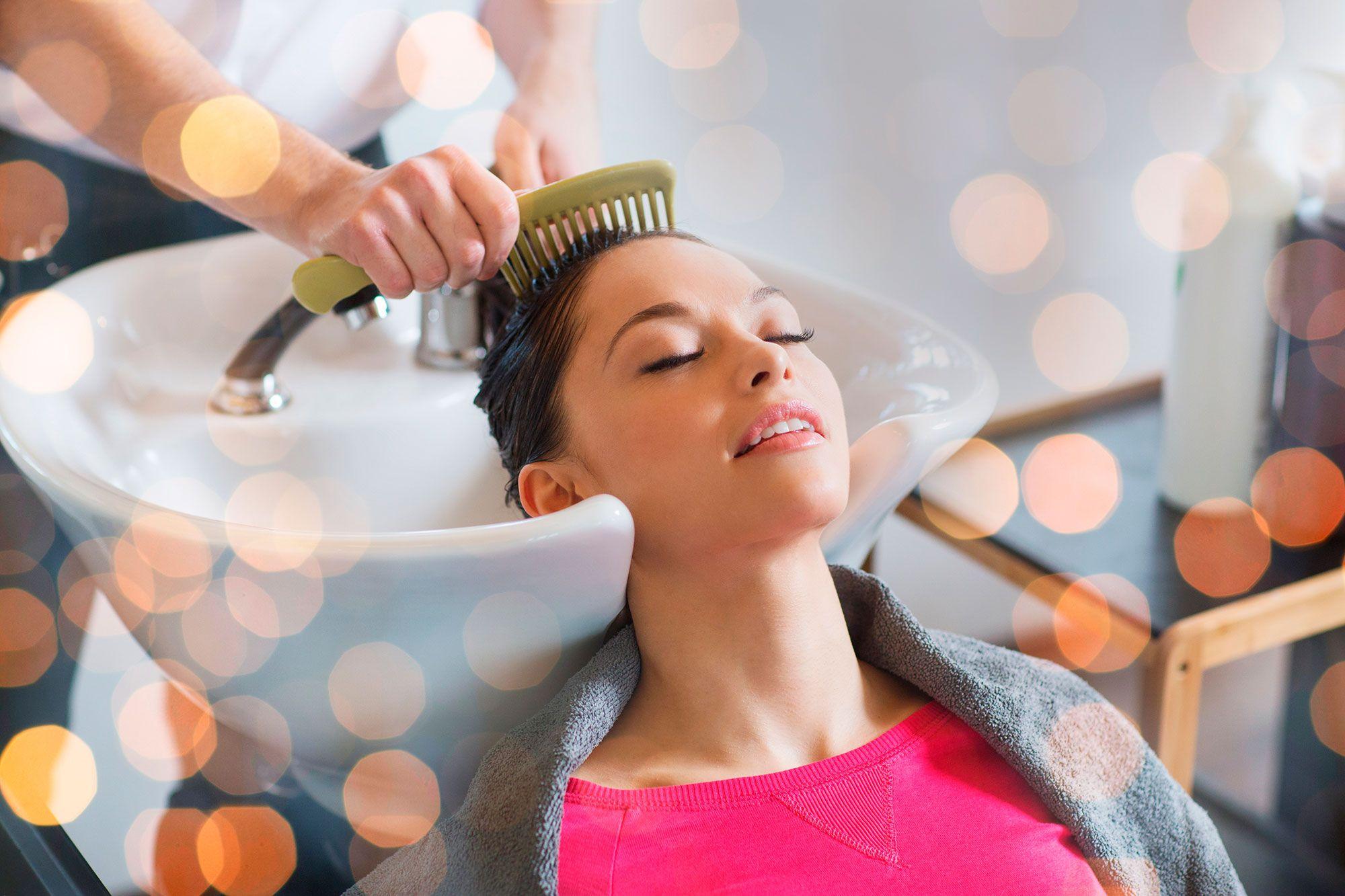cabello masajes