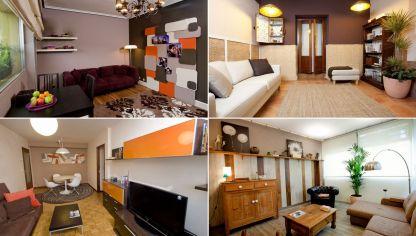 Dormitorios luminosos en colores tierra hogarmania - Como decorar paredes salon ...