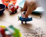 Decoración de mesa navideña para niños
