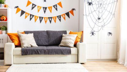 Decorar mesa para halloween en blanco y negro hogarmania for Decoracion hogar halloween