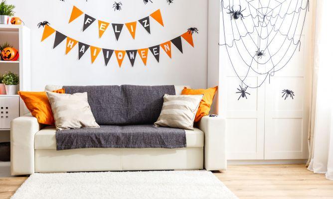 Cmo decorar la casa para hacer una fiesta de Halloween Hogarmania