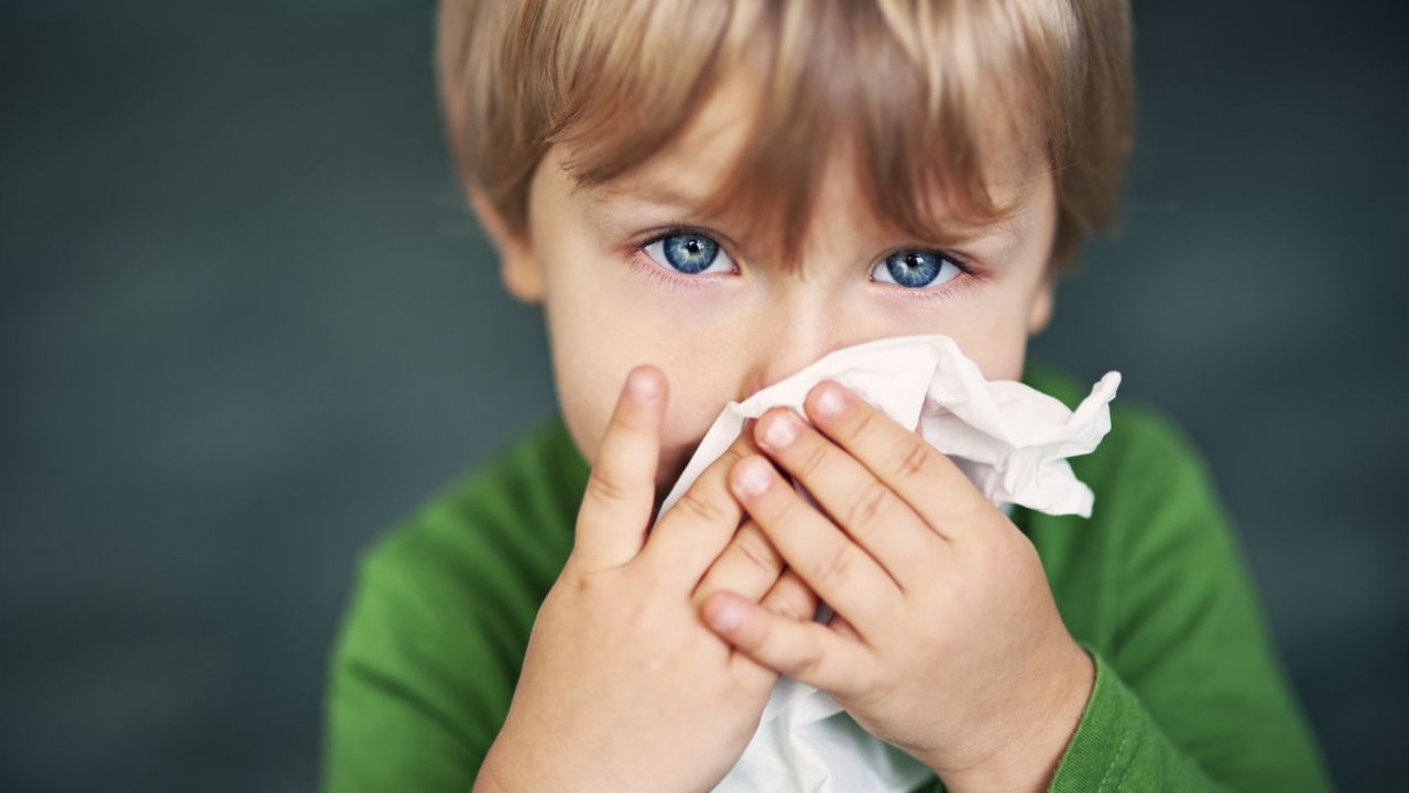 falta de aire repentina en niños