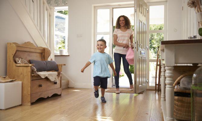 Ordenar la entrada de la casa hogarmania - Ordenar la casa ...