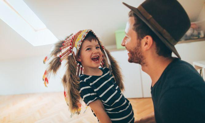 Planes para hacer con los niños en casa - Hogarmania