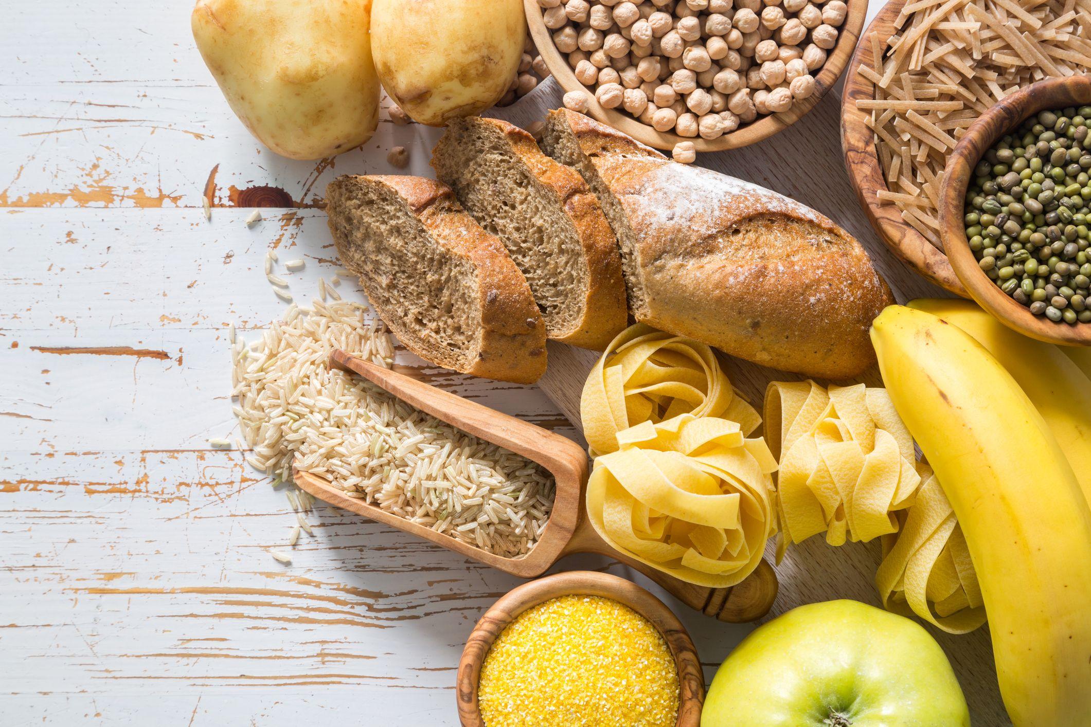 Pan, cereales, legumbres