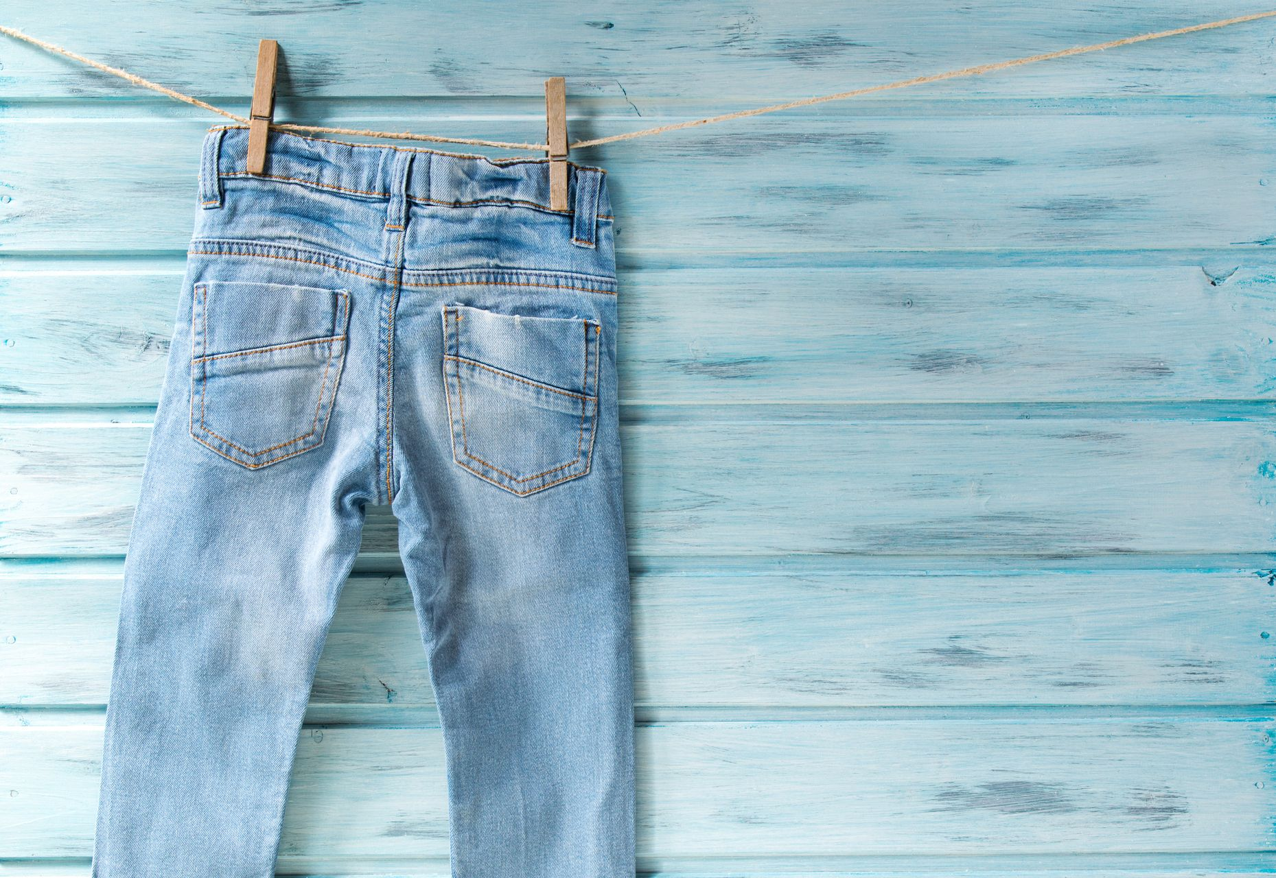Pantalón vaquero lavado