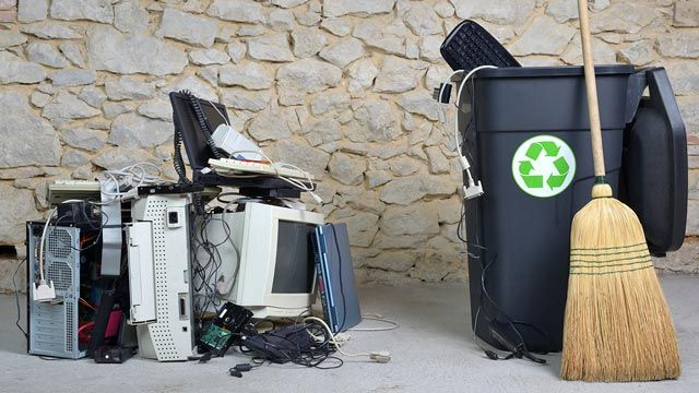 Reciclar aparatos eléctricos