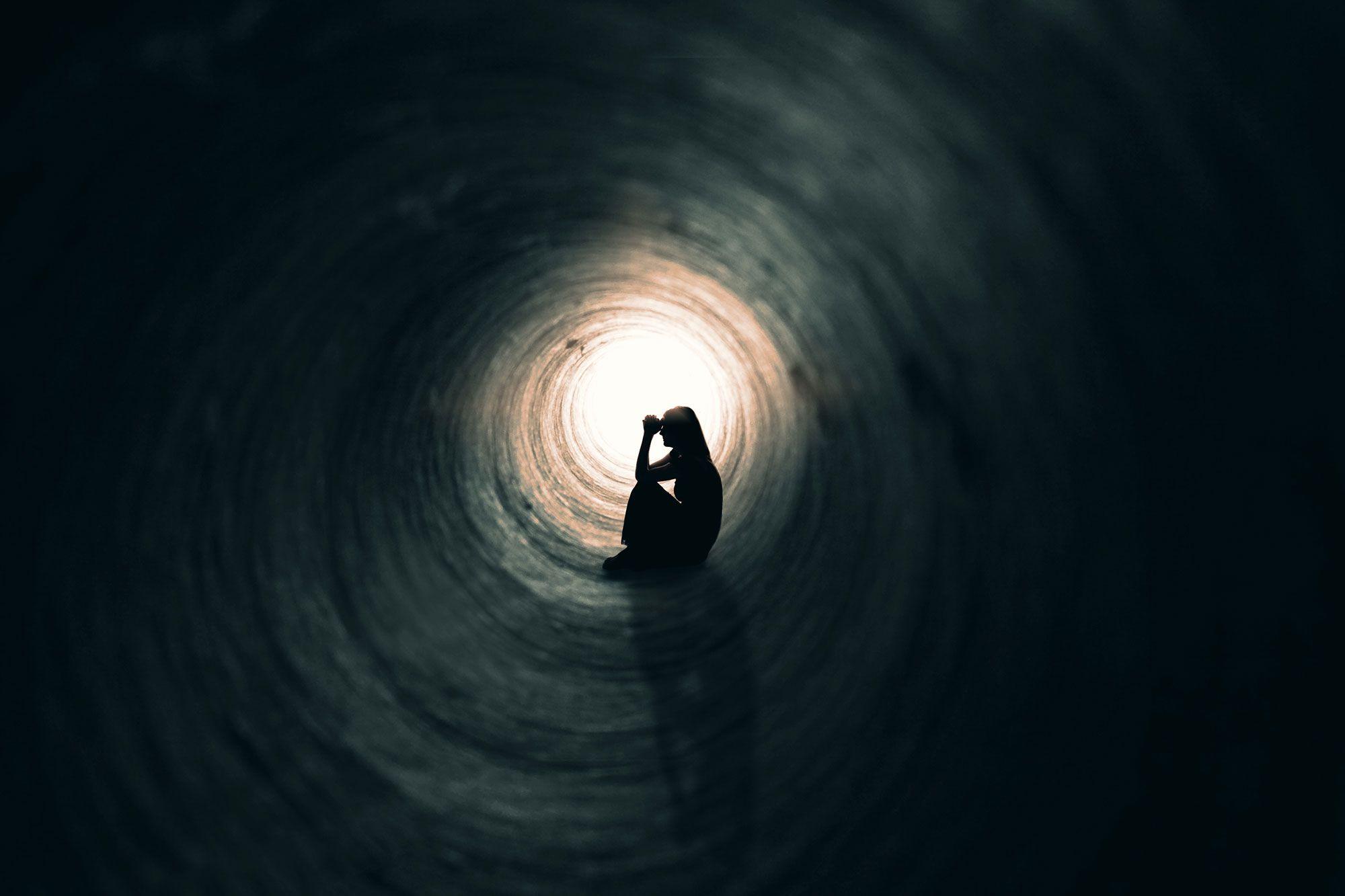 túnel depresión