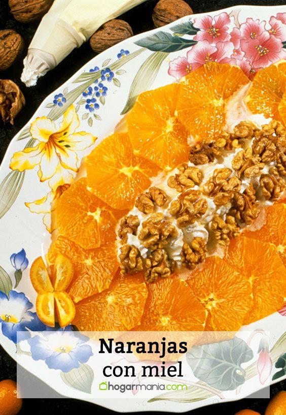 Naranjas con miel