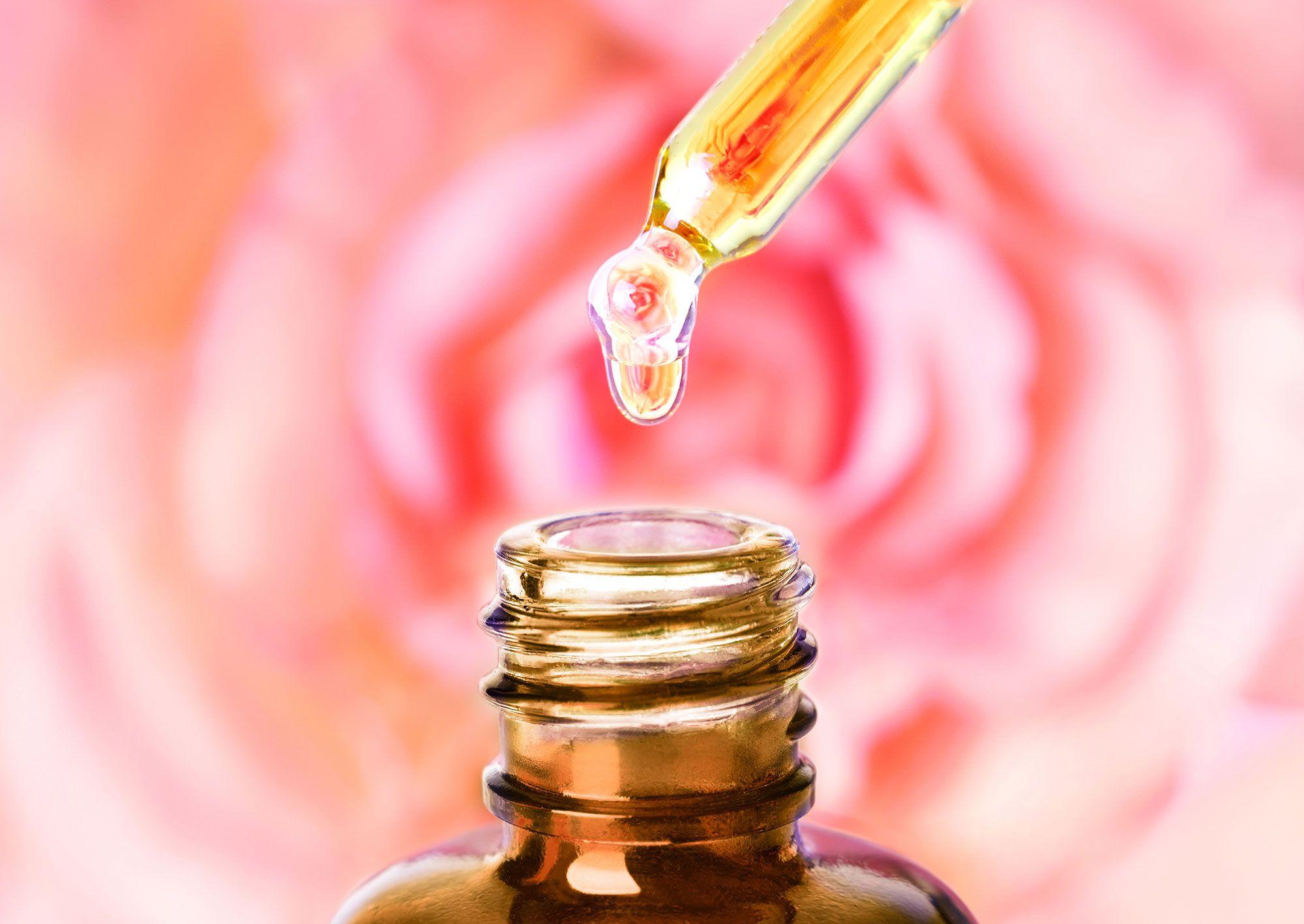 aceite rosas arrugas piel