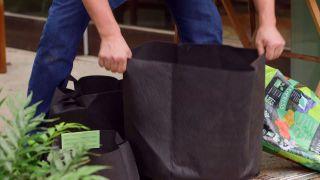 Beneficios de las jardineras de tela