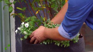 Jardineras de tela - Paso 4