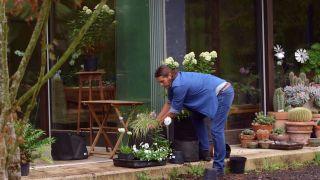 Jardineras de tela - Paso 6