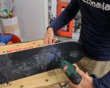Cómo hacer una balda con un patinete