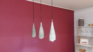 Cómo hacer una lámpara de cemento