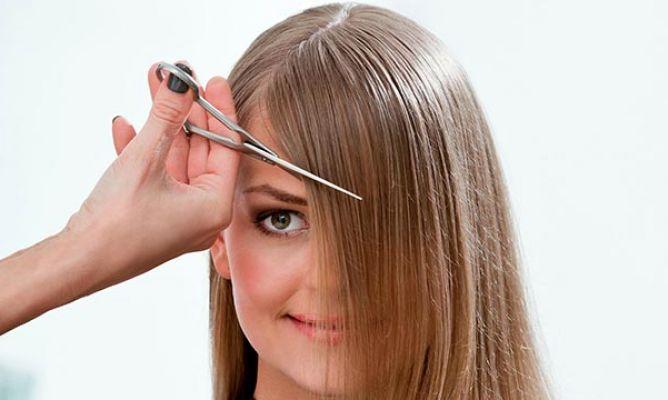 Estilos de cortes de cabello con fleco