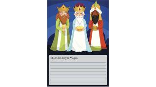 Cartas a los Reyes Magos para descargar - Modelo 10
