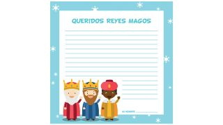 Cartas a los Reyes Magos para descargar - Modelo 4