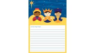 Cartas a los Reyes Magos para descargar - Modelo 5