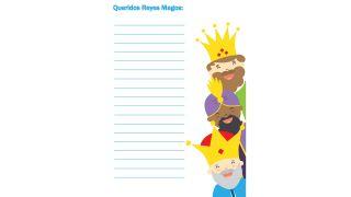 Cartas a los Reyes Magos para descargar - Modelo 6
