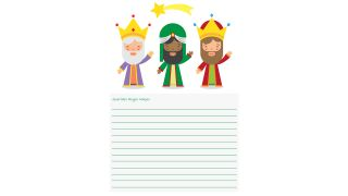 Cartas a los Reyes Magos para descargar - Modelo 7