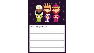 Cartas a los Reyes Magos para descargar - Modelo 8
