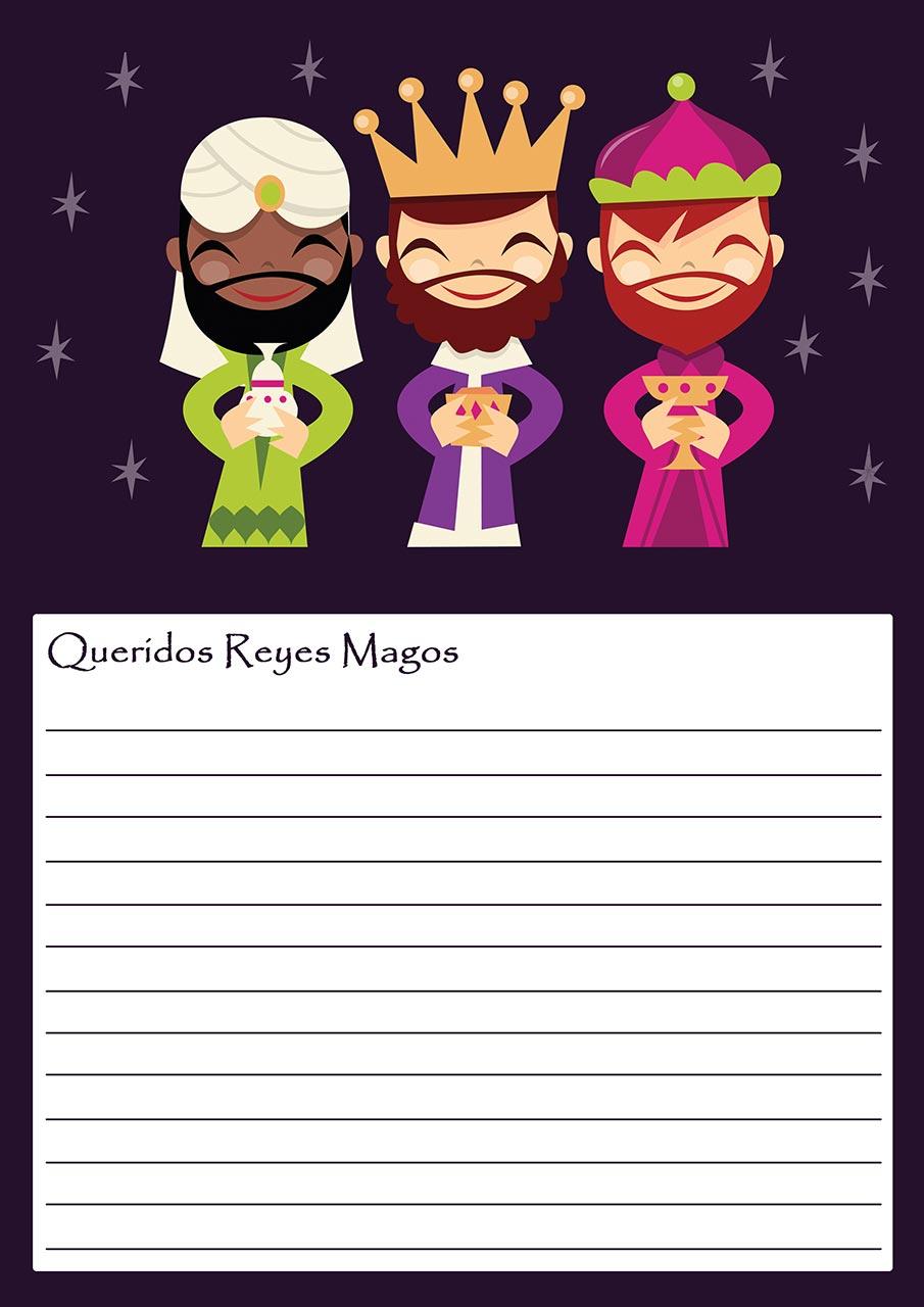 Cartas A Los Reyes Magos Para Descargar Hogarmania